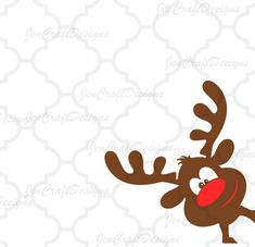 Christmas Reindeer SVG This digital artwork can be used by cutting software, such as Cricut Design Space, Silhouette Studio, Sure Cuts A Lot (SCAL) and Brother ScanNCut and other cutting software. The high quality files will cut cleanly and smoothly since they are professionally