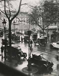 Boulevard Malesherbes at Midday, Paris, 1925, André Kertész