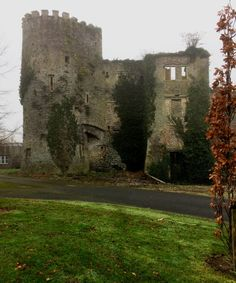 Kilmanahan Castle, County Waterford, Ireland.
