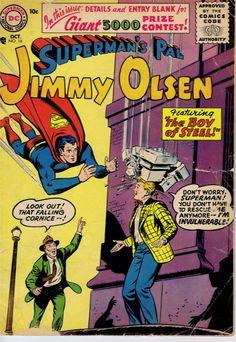 Jimmy Olsen #16 www.ephemeritor.com