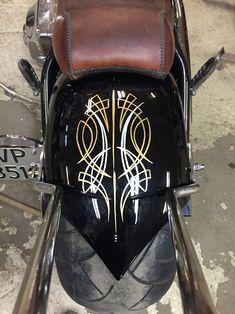 Chopper pinstriping springer kustom custom paint 1-shot 276ccm Harley Davidson