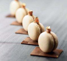 Macarons au marron