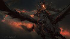 Black Pegasus by daRoz on DeviantArt