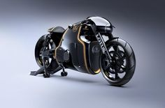 "Lotus enters motorcycle business with stunning ""hyper bike"" 