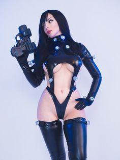 Reika from Gantz by Katyuska MoonFox @ twitter.com/Katyuskamoonfox - More at https://pinterest.com/supergirlsart #katyuskamoonfox #hot #sexy #cosplay #girl #cosplaygirl  #moonmoon