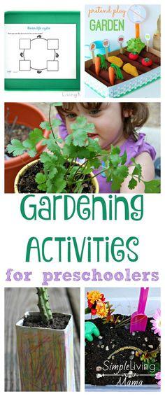 Gardening Activities for Preschoolers - Simple Living Mama
