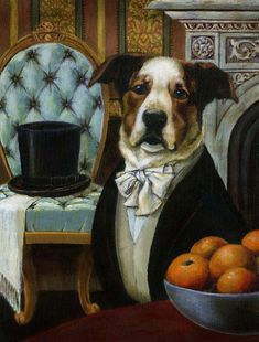 Dog Dandy Portrait - Animal Portrait