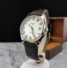 Longines Admiral Ultronic from the 1970s service 2015 box | One of my own collection