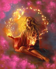 The practice of Reiki brings you into oneness with the Divine. Just doing 5 minutes of Reiki every day can change your life and the world. Magia Elemental, Tutorial Photoshop, Love Psychic, Celtic Goddess, Goddess Of Love, Gods And Goddesses, Love And Light, Wiccan, Witchcraft