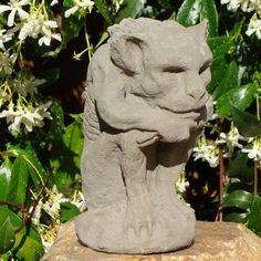 Gargoyle Candleholder | Designer Stone Garden Shop