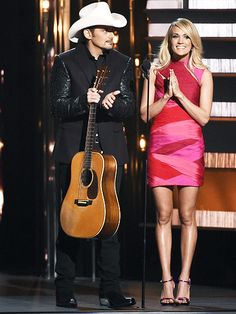 Carrie Underwood Outdoes Herself Again with Wardrobe Changes at the 2015 CMA Awards Cma Awards, Giuseppe Zanotti Heels, Cocktail Attire, Brad Paisley, Carrie Underwood, Red Carpet Looks, Red Carpet Fashion, Carry On, Bodycon Dress
