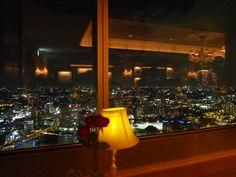 "Cena, ""Le Ciel"" (Francia Ristorante) di ""Royal Park Hotel"", Yokohama Japan (Aprile)"