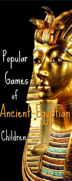 Let's go back in time and discuss the actual games and toys that Ancient-Egyptian Children played with and the culture that surrounded them.