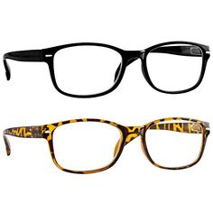 c592738646 TruVision Readers Reading Glasses for Women and Men - Best Designer Value  Pack of Readers with