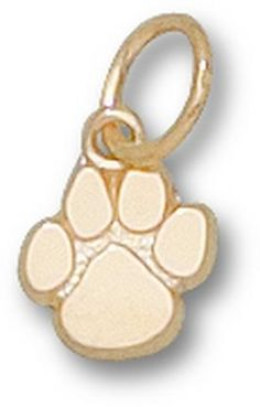 Clemson Tigers Paw 3/8 Lapel Pin - 14KT Gold Jewelry: You often see shirts, caps and jackets that… #Sport #Football #Rugby #IceHockey