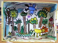 Grade One | Art Lessons For Kids  Diorama - any theme