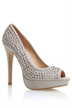 Women's Shoes - Next Microsuede Heatseal Courts - EziBuy New Zealand #shoes
