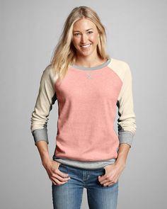 Women's Legend Wash Sweatshirt - Colorblock   Eddie Bauer