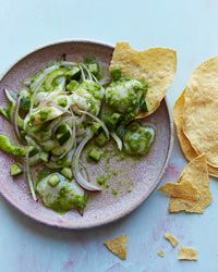 Made this for Cinco de Mayo! Scallop Ceviche with Aguachile Recipe on Food & Wine