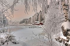 Kajaani Finland -   photo by account flickr