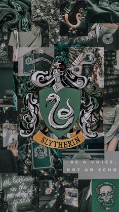 Slytherin for me💕🐍 Harry Potter Tumblr, Harry Potter Anime, Harry Potter Casas, Images Harry Potter, Arte Do Harry Potter, Slytherin Harry Potter, Harry Potter Universal, Harry Potter Memes, Harry Potter World
