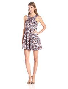 BCBGeneration Women's Denim Dress, Hot Coral Combo, 2 BCBGeneration http://www.amazon.com/dp/B00XK0XSGK/ref=cm_sw_r_pi_dp_tyBRvb0K0WH8W