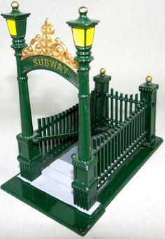 CITY SUBWAY ENTRANCE #55417  DEPT 56  CHRISTMAS IN THE CITY ACCESSORY NEW YORK