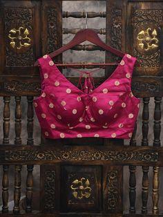 Magenta Satin Silk Banarasi Blouse Green Satin, Teal Green, Magenta, Suits You, Mix Match, Signature Style, Silk Satin, Beige, Sleeves