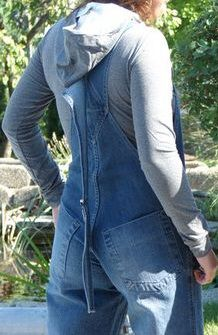 Overalls are great to wear.