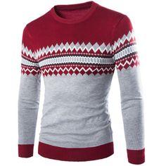 Men Casual Brand Cotton Slim Fit Sweater