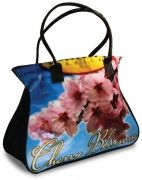 Our beautiful Cherry Blossom Cinchy Tote - it'll carry anything!  http://envirothink.wordpress.com/2012/05/07/fun-and-guilty-pleasures-for-mothers-day/