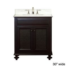 Water Creation London Collection Single Sink Bathroom Vanity Set | Overstock.com Shopping - Great Deals on Water Creation Bathroom Vanities