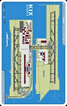 Osaka Kansai International Airport Map (cc) R. Aehnelt via Wikimedia