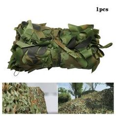 Ideal for hunting and shooting, building shelters etc.