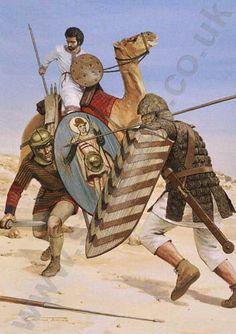 Roman army crocodile armor.