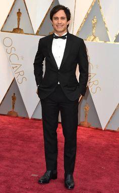 Gael García Bernal from Oscars 2017 Red Carpet Arrivals