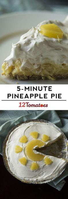 5-Minute Pineapple Pie