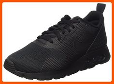 Nike Men's Air Max Tavas Black/Black/Black Running Shoe 12 Men US - Mens world (*Amazon Partner-Link)