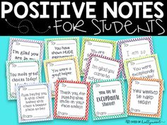 It's always my intention to praise students, however, we teachers get busy and tend to forget! These already made notes will help you remember and will take no time at all! In the beginning of the year, I'll print several copies and have them cut and ready to go!