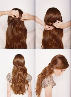 20 Easy Half-Up Hairstyles That'll Only Take Minutes To Achieve - The Singapore Women's Weekly
