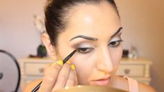 Night Out Brown Smokey Eye Tutorial 2013