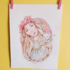 Dolly Bow Bow illustration