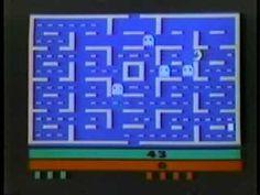 1980's Atari 2600 Pac-Man Commercial