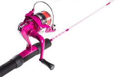 Mermaid ICE. Brighten up any icy day with a Breast Cancer PINK ICE Fishing Rod!