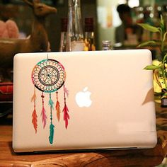 Seurat macbook sticker Creative MacBook Laptop decal Apple decal any laptop sticker Macbook Pro Laptop Skin