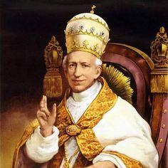 CATHOLIC INSPIRATIONS OVERLOAD: Vision of Pope Leo XIII :Saint Michael the Archangel