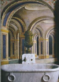 The Peacock Room at Castello Di Sammezzano (Non Plus Ultra) in Reggello, Toscana, Italy