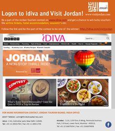 #GetLucky & #WinWithJordan tons of surprises, including your very own holiday to #Jordan #LogIn2WinNOW #Travel #Exclusive #MyJordan #GoJordan