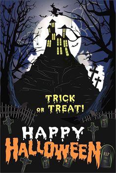 Halloween Cartoons, Halloween Clipart, Halloween Jack, Halloween Night, Happy Halloween, Halloween Ideas, Halloween Haunted Houses, Halloween House, Super Hero Tattoos