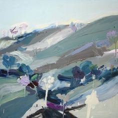 Exhibition: Richard Claremont #Art and #Inspiration - Valley Floor - #Landscapes #Oil #Paintings